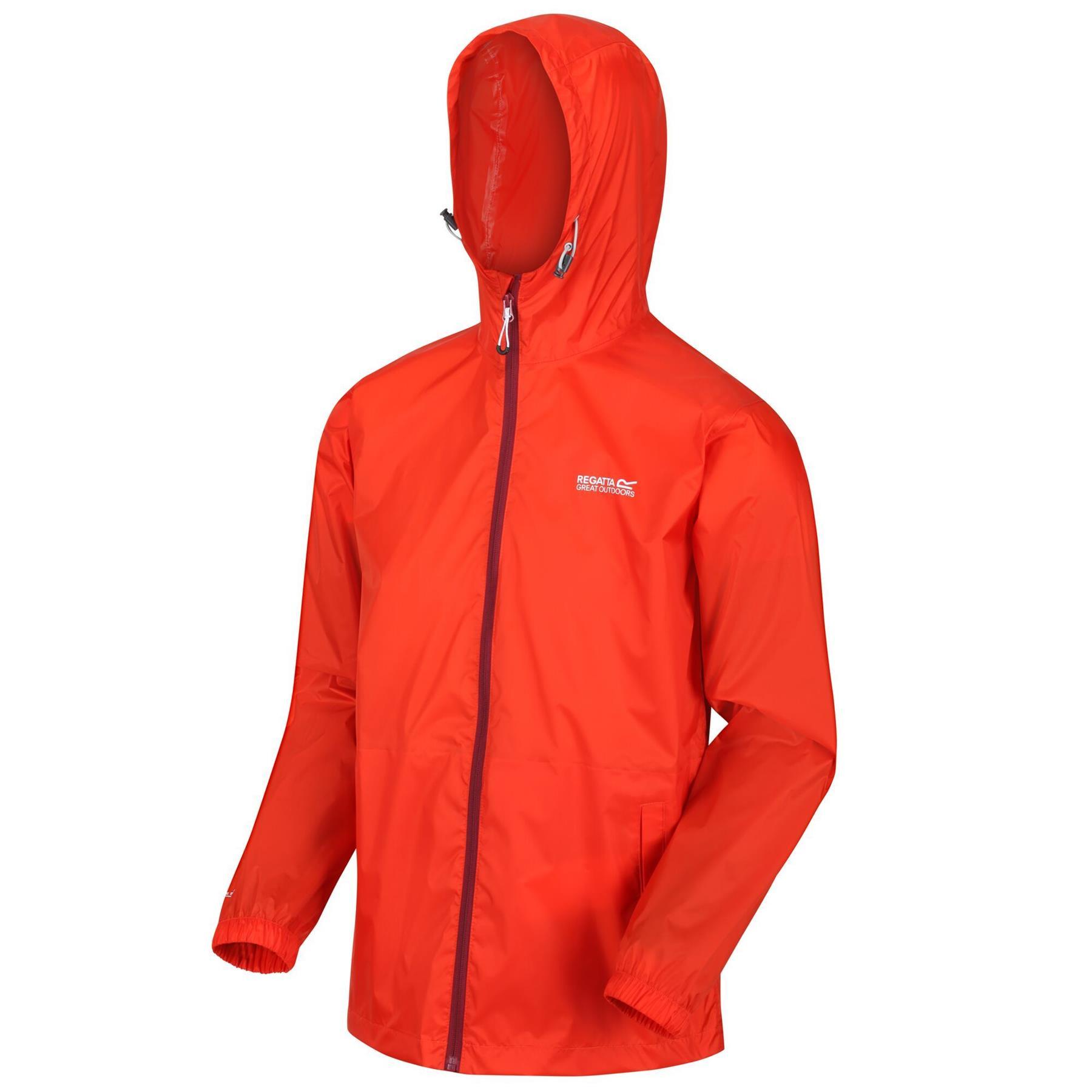 miniatuur 18 - Regatta Mens Pack-it In a bag Packable Waterproof Jacket Outdoor Pack a mac