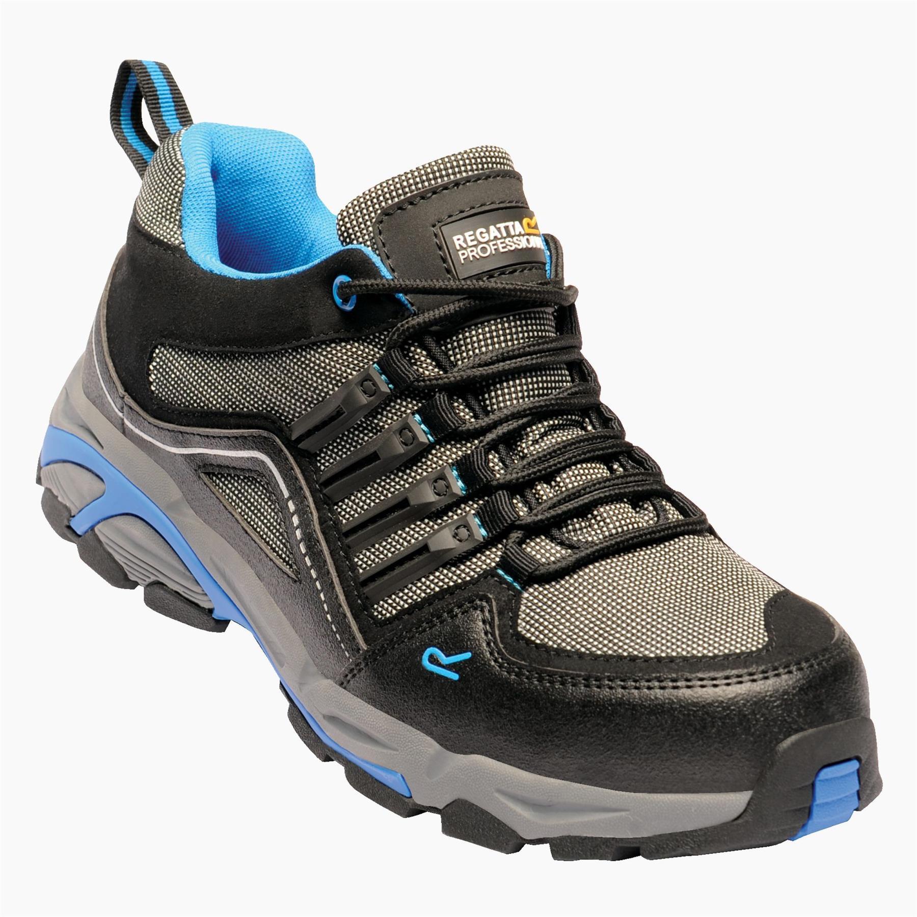 miniatuur 6 - Regatta Mens Work Safety Protective Shoes Steel Toe Cap Boots Workwear