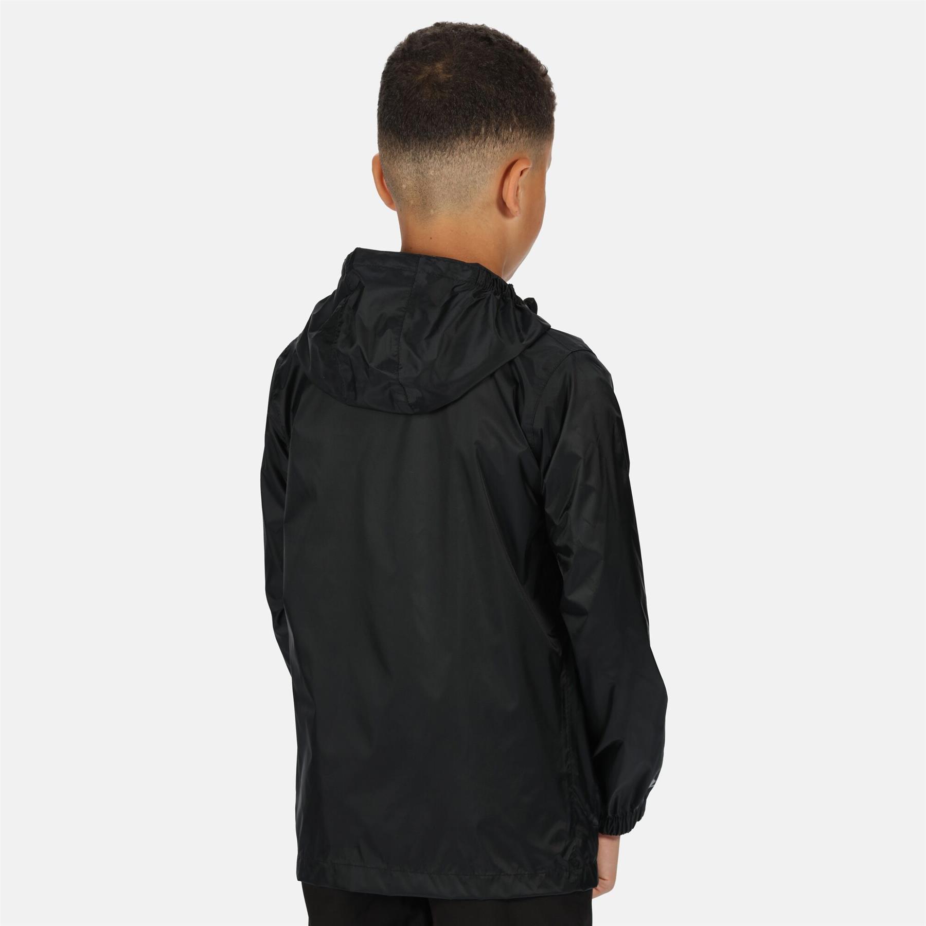 miniatuur 12 - Regatta Kids Pack it Jacket II Lightweight Waterproof Packaway Jacket Boys Girls