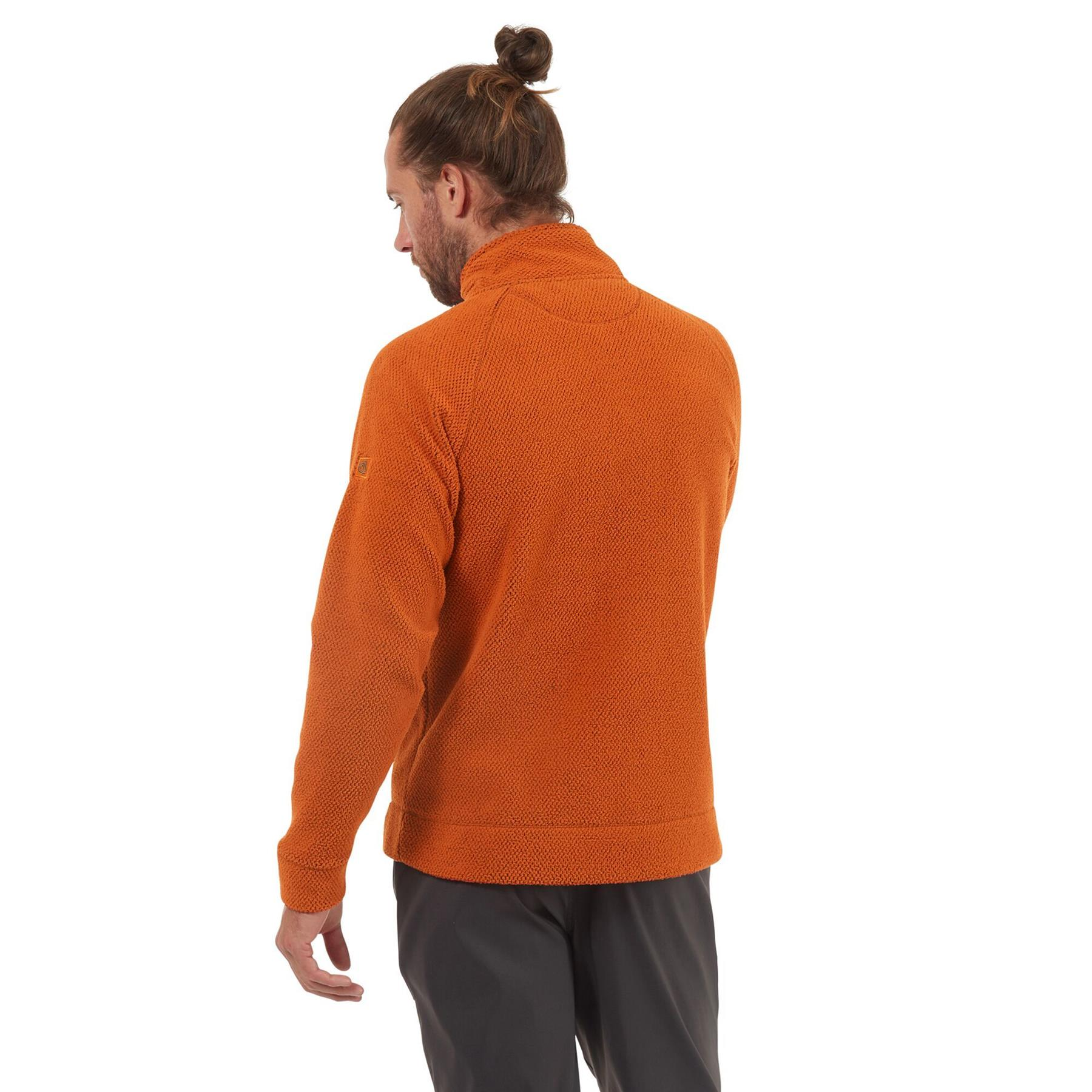 miniatuur 14 - Craghopper Mens Cason Fleece Half Zip Bobble Soft Jumper Pullover Sweater