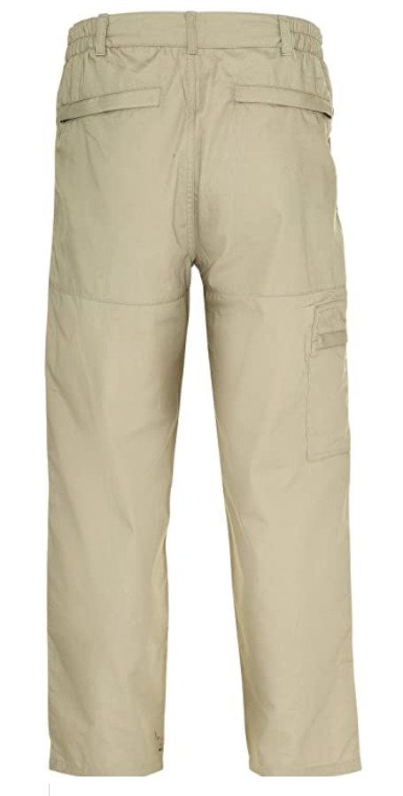 miniatuur 3 - Champion Mens Wenlock Action Walking Trousers Multi Pockets Zip Stone