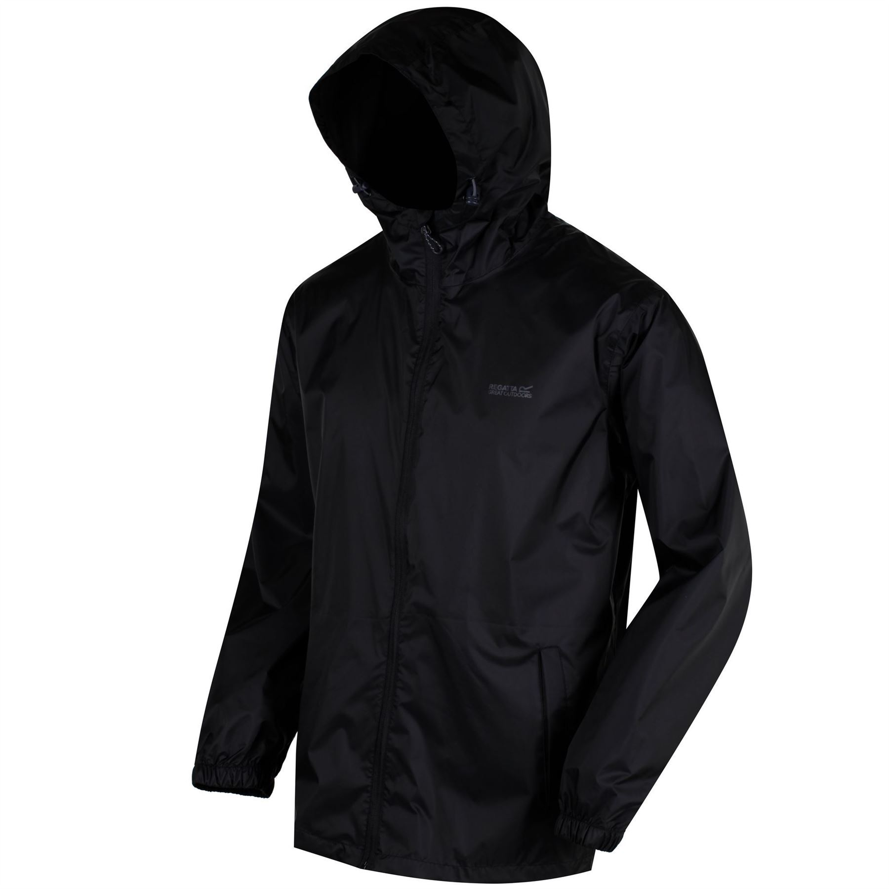 miniatuur 8 - Regatta Mens Pack-it In a bag Packable Waterproof Jacket Outdoor Pack a mac