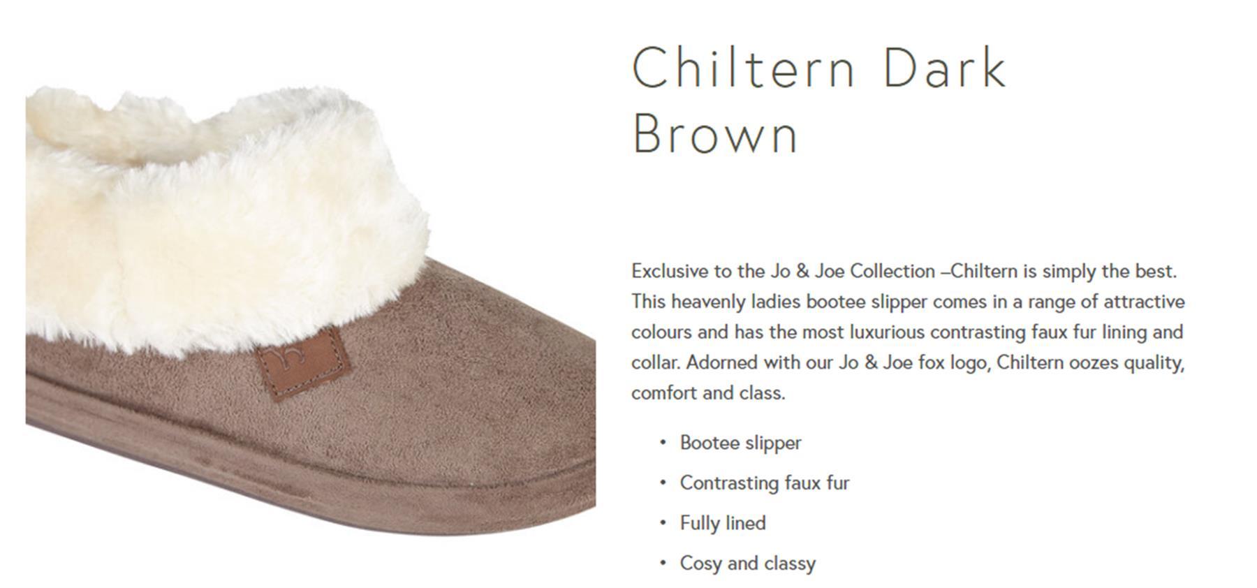miniatuur 6 - Jo & Joe Womens Luxury Slippers Winter Warm Fur Slip On Flat Mule Bootie Girls