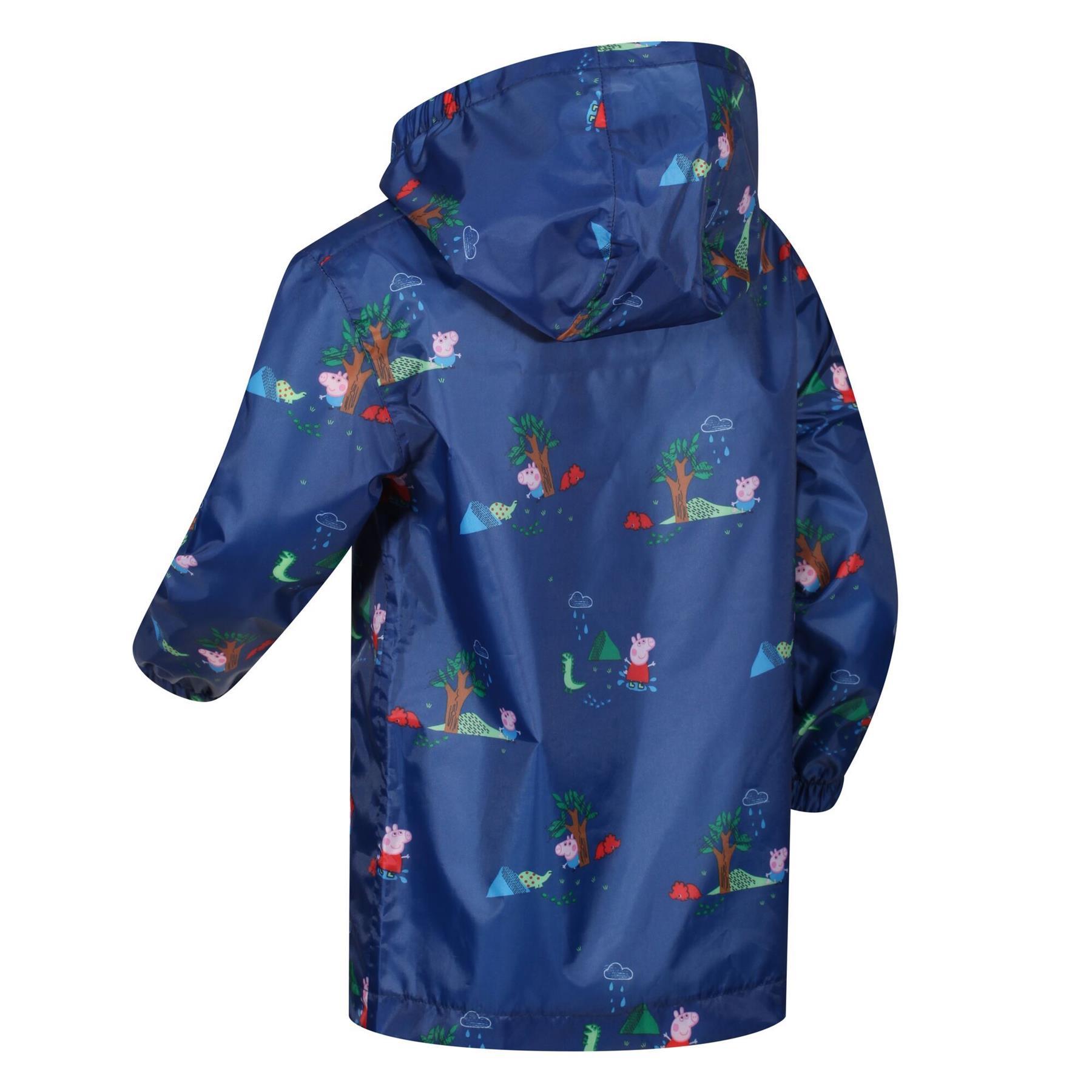 miniatuur 24 - Regatta Kids Pack it Jacket II Lightweight Waterproof Packaway Jacket Boys Girls