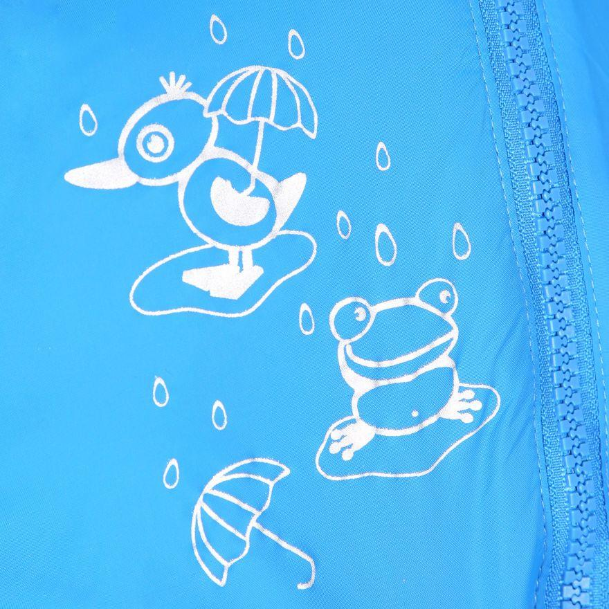 miniatuur 6 - Trespass Babies Infants Dripdrop Padded Waterproof Outdoor Puddle Suit Rain Suit
