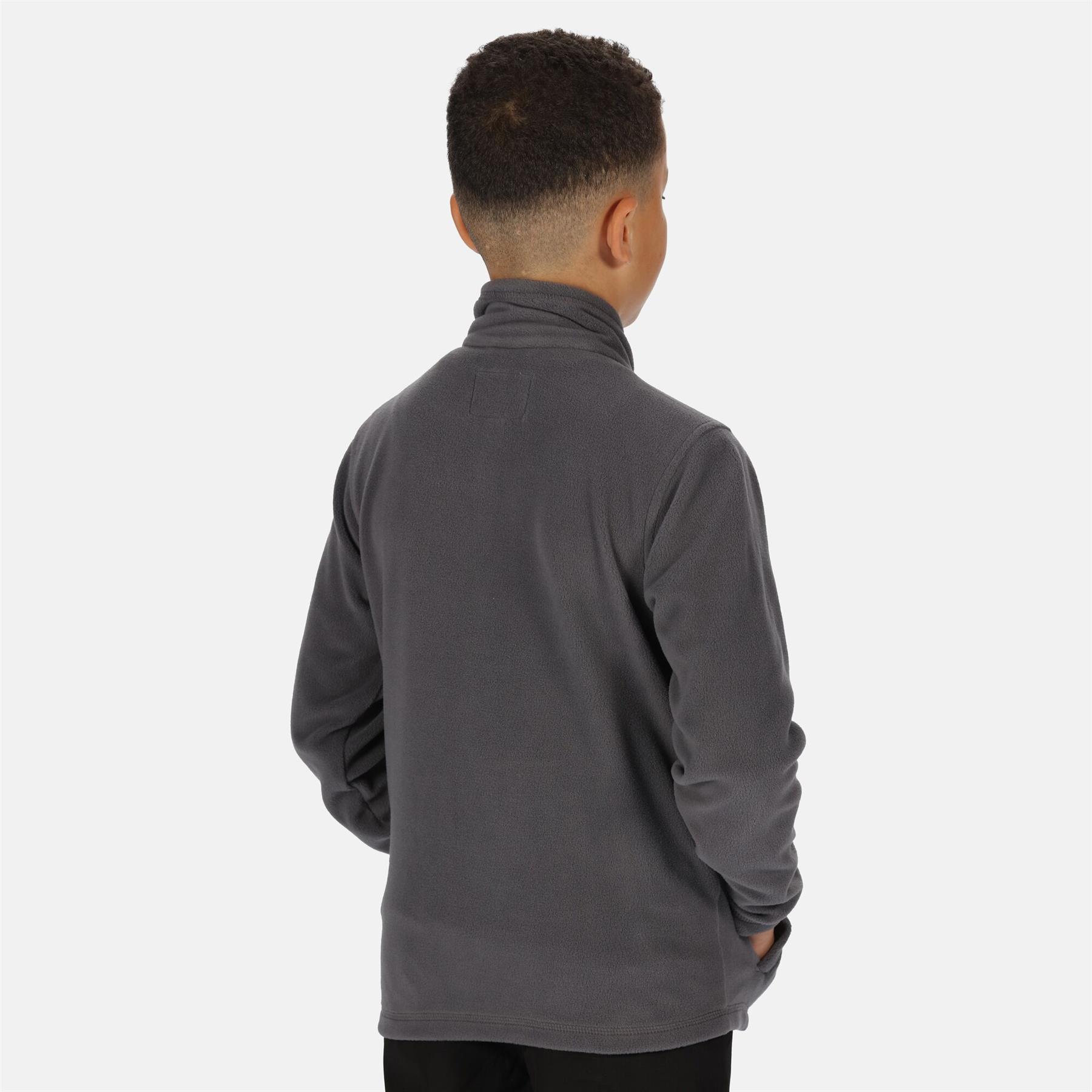 miniatuur 12 - Regatta Kids King II Lightweight Symmetry Fleece Full Zip Jacket Boys Girls