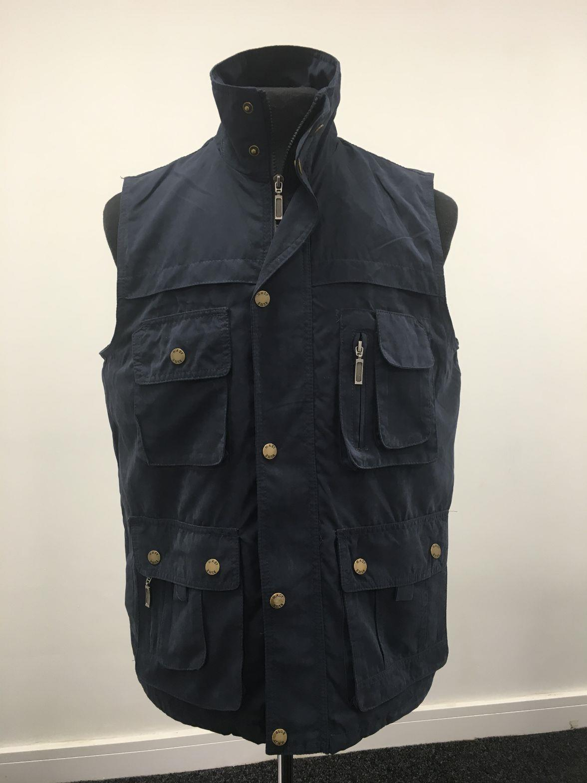 miniatuur 3 - Country Classics HAWK II Mens Padded Gilet Multi Pocket Bodywarmer Utility Vest