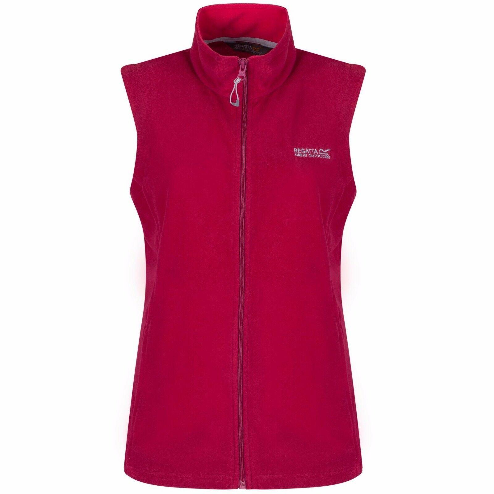 miniatuur 9 - Regatta Womens Sweetness Full Zip Micro Fleece Casual Bodywarmer Waistcoat