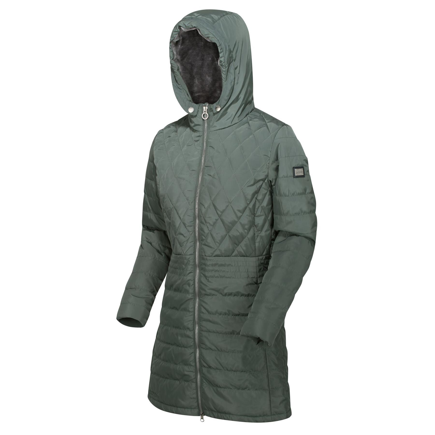 Regatta Larimar Quilted Thermoguard Insulated Water Repellent Hooded Veste Mixte enfant