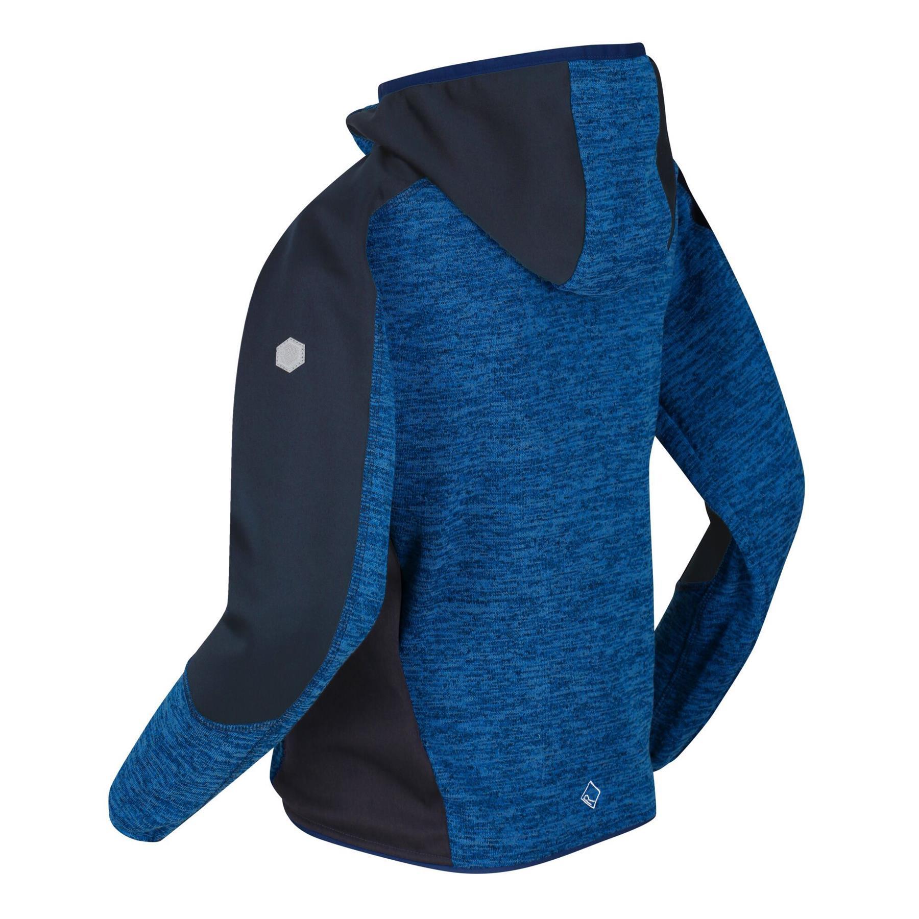 miniatuur 6 - Regatta Kids Dissolver III Full Zip Insulated Fleece Jacket Hoodie Boys Girls