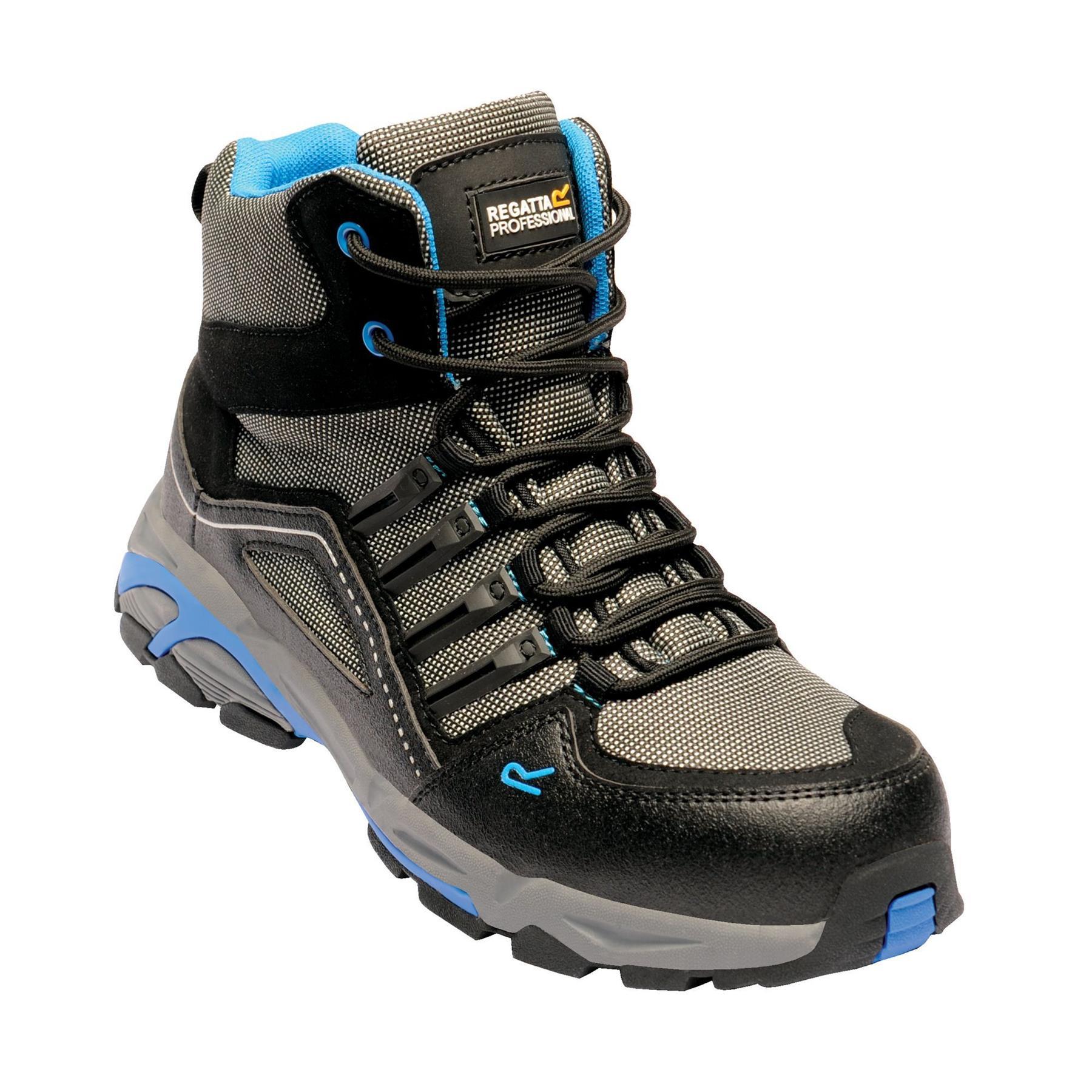 miniatuur 3 - Regatta Mens Work Safety Protective Shoes Steel Toe Cap Boots Workwear