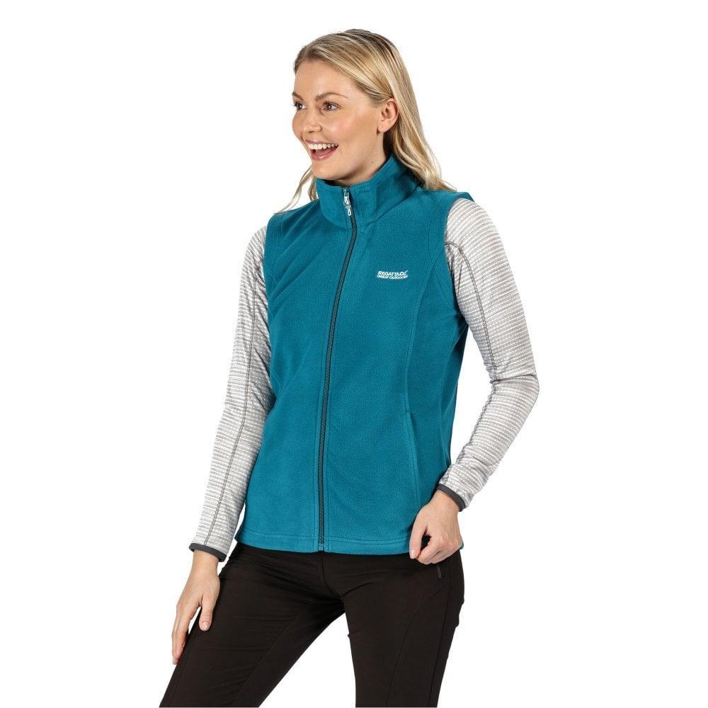 miniatuur 16 - Regatta Womens Sweetness Full Zip Micro Fleece Casual Bodywarmer Waistcoat