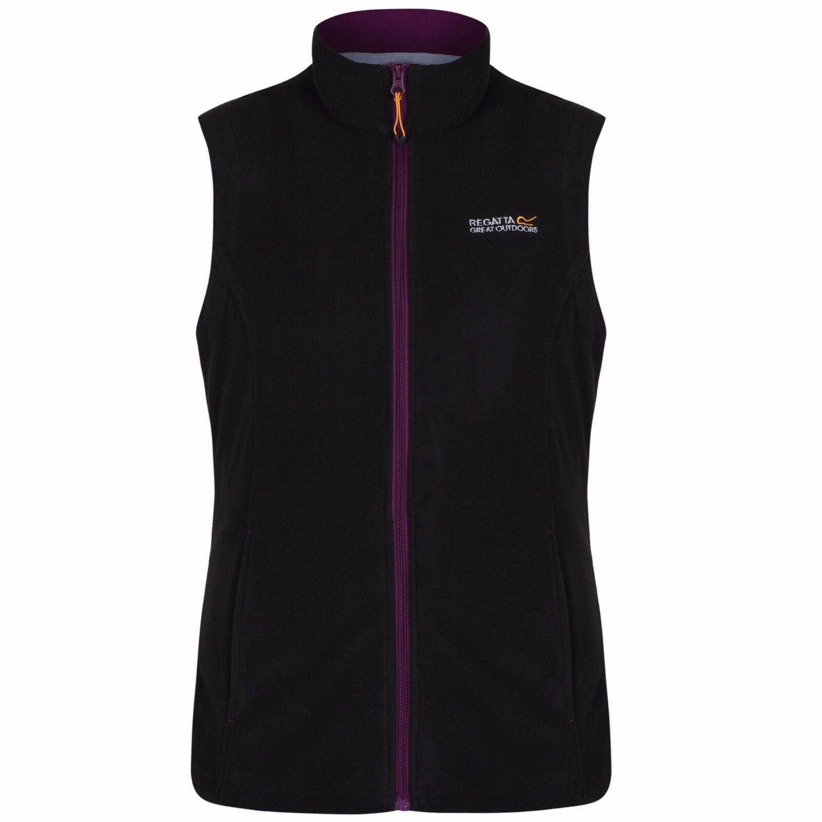 miniatuur 7 - Regatta Womens Sweetness Full Zip Micro Fleece Casual Bodywarmer Waistcoat
