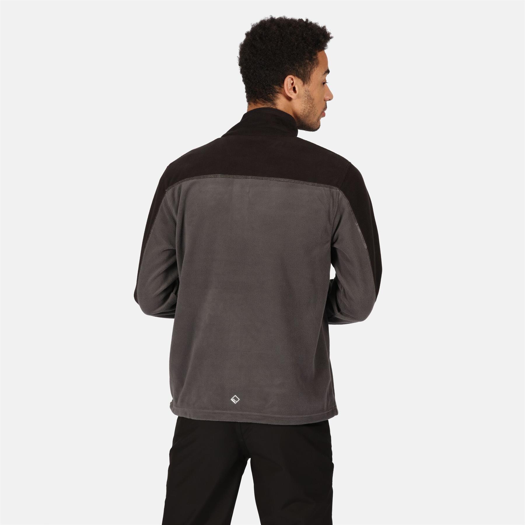 miniatuur 9 - Regatta Mens Fellard Fleece Jacket Full Zip Up Coat S M L XL 2XL 3XL 4XL