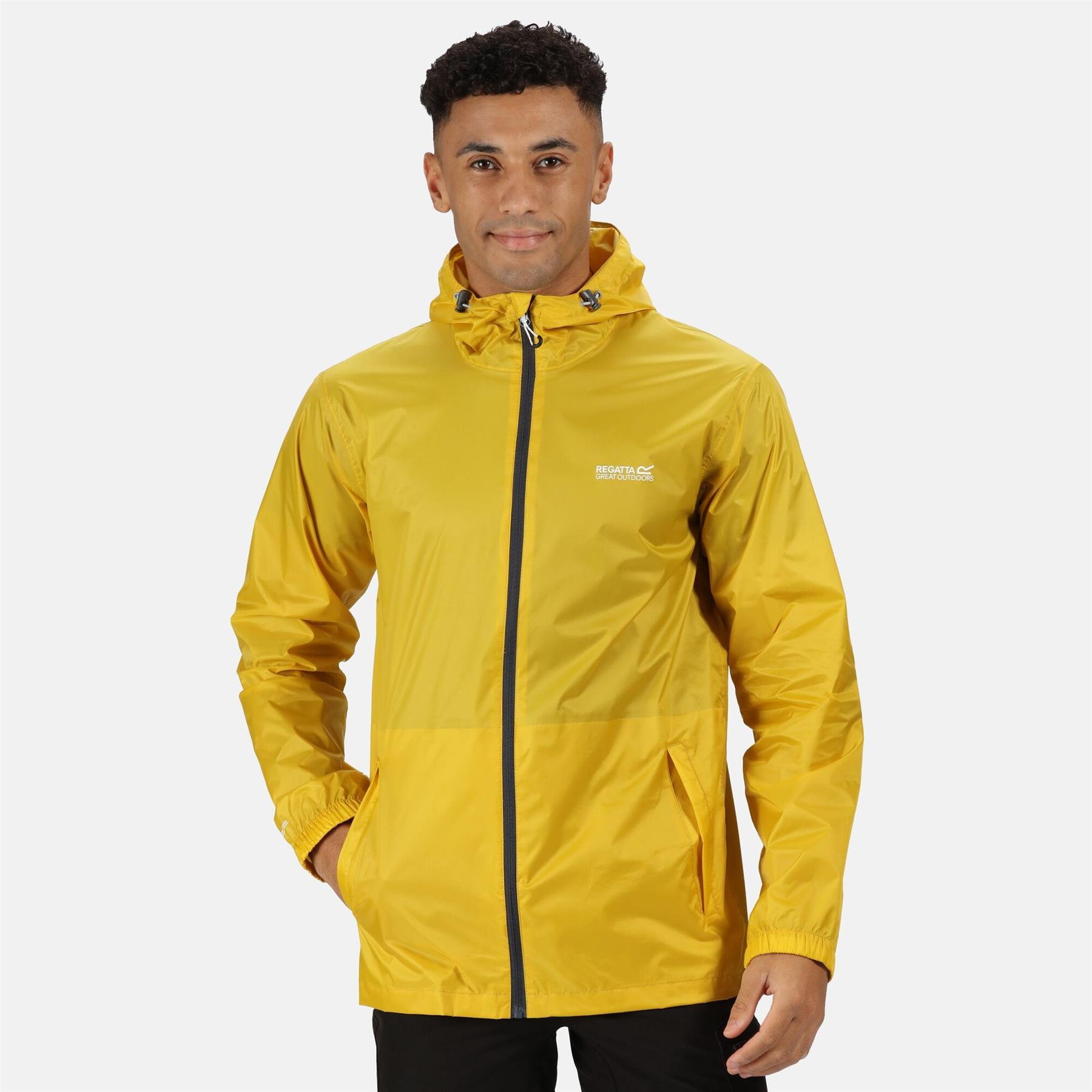 miniatuur 22 - Regatta Mens Pack-it In a bag Packable Waterproof Jacket Outdoor Pack a mac