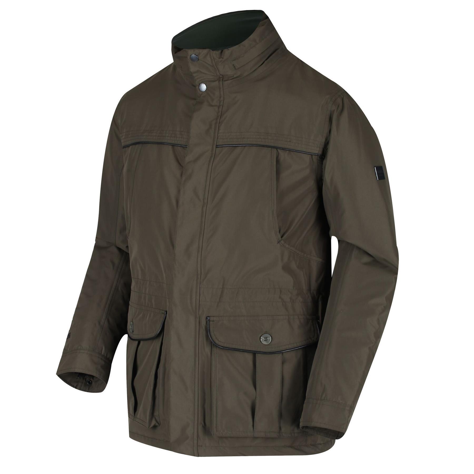 miniatuur 11 - Regatta Mens Rawson Waterproof Breathable Insulated Jacket Coat