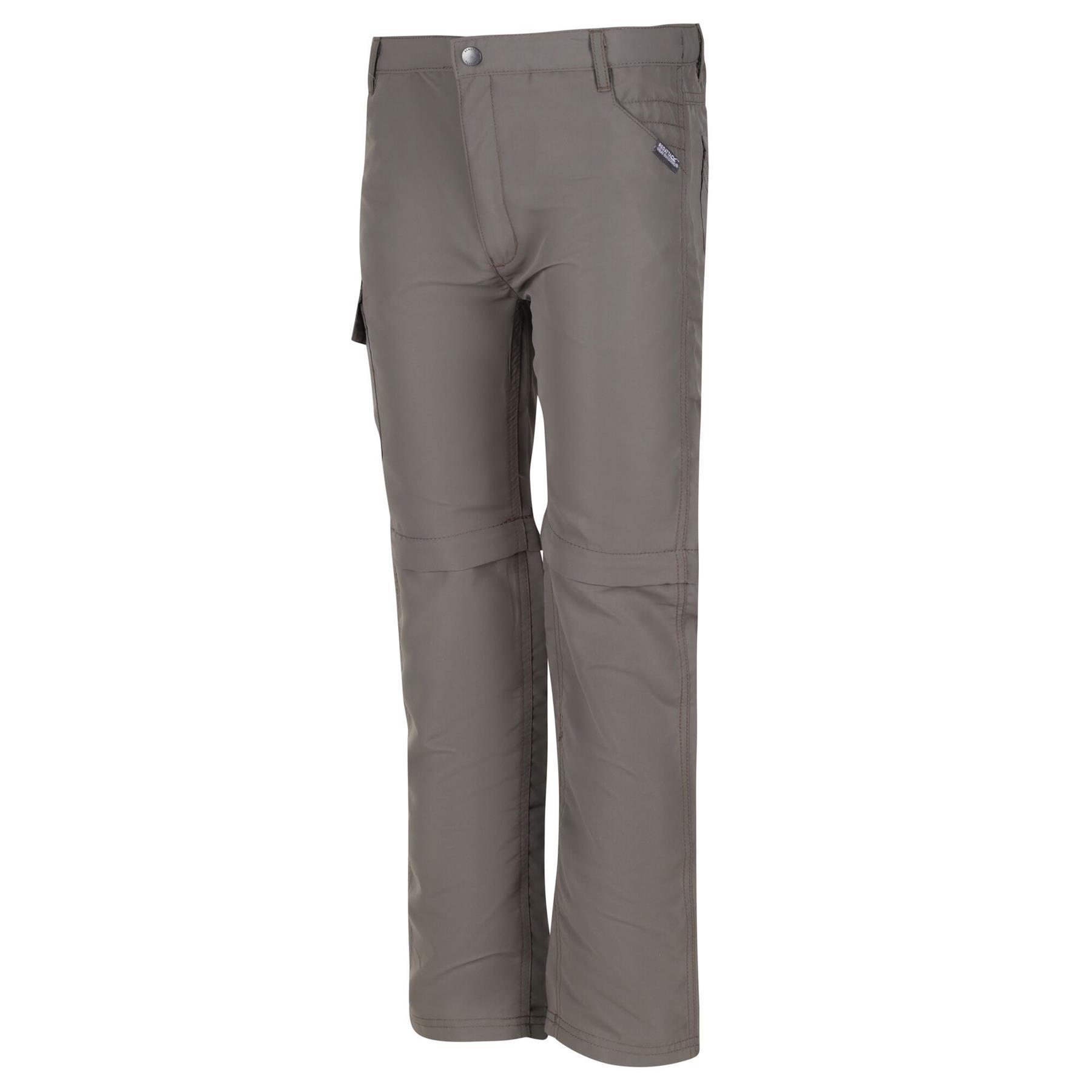 miniatuur 9 - Regatta Kids Sorcer II Zip Off Convertible Trousers Boys Girls