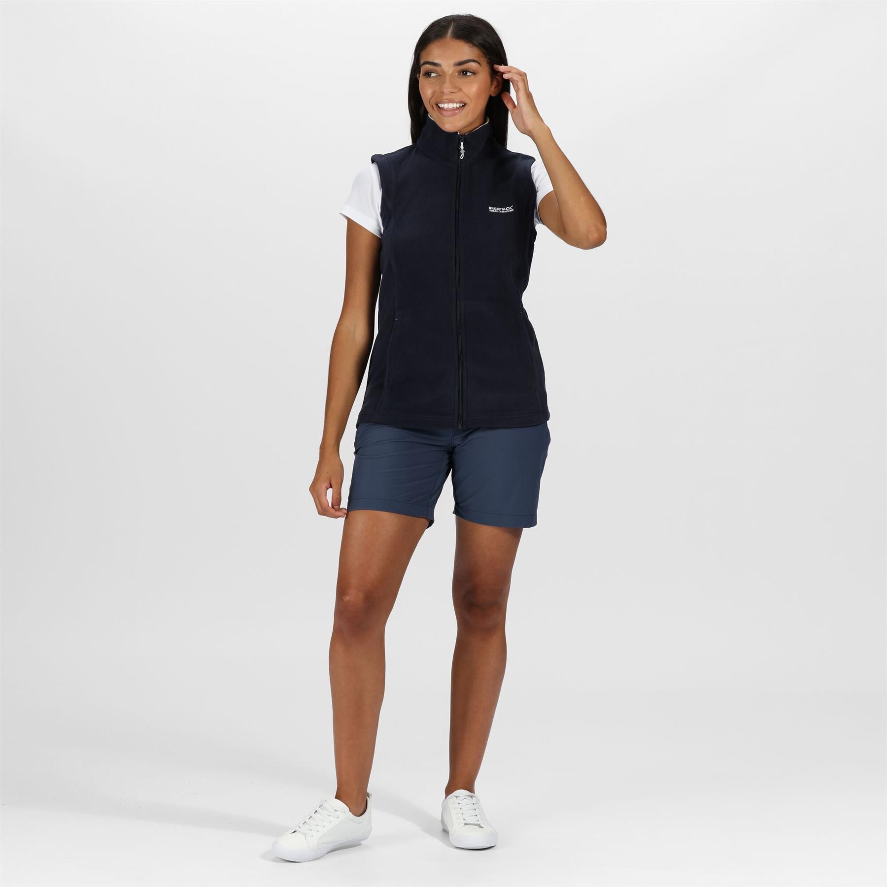miniatuur 14 - Regatta Womens Sweetness Full Zip Micro Fleece Casual Bodywarmer Waistcoat