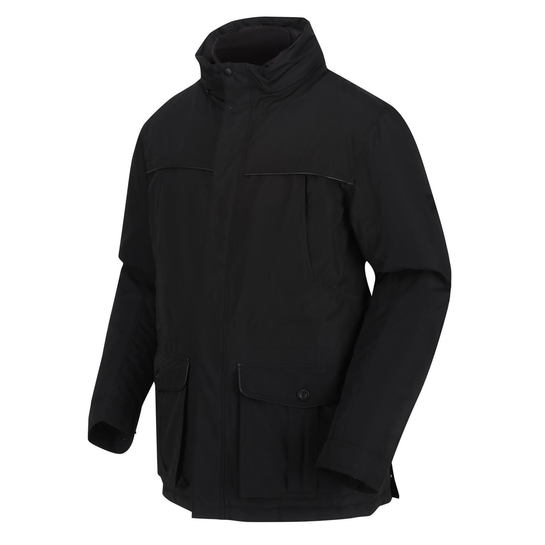 miniatuur 8 - Regatta Mens Rawson Waterproof Breathable Insulated Jacket Coat