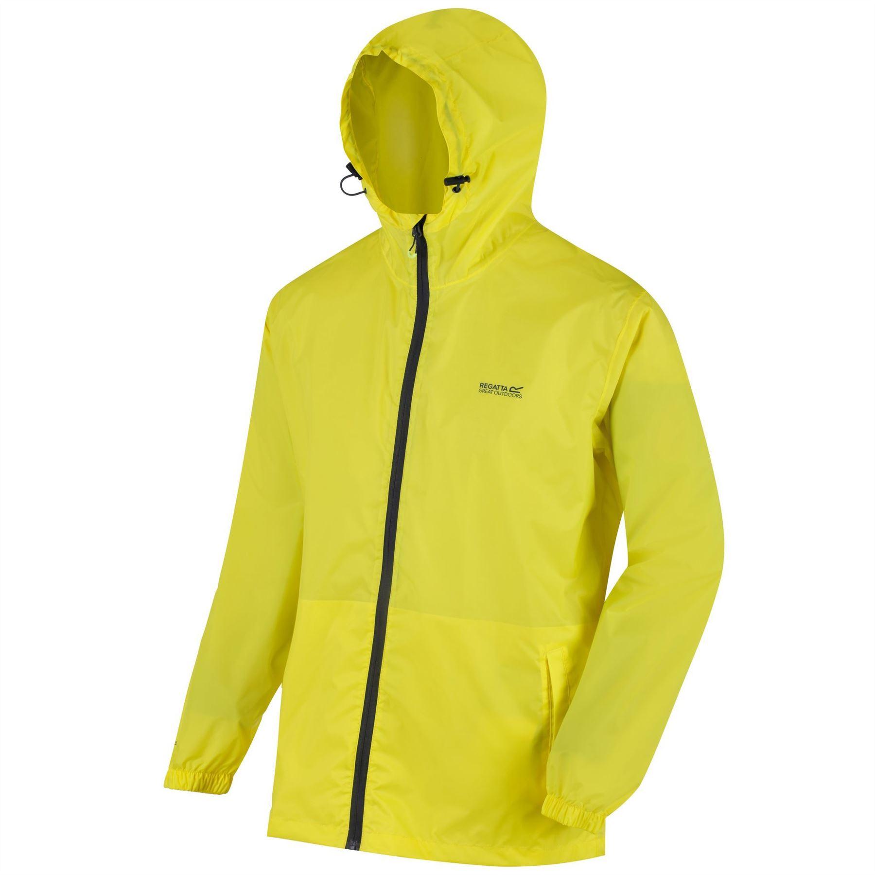 miniatuur 11 - Regatta Mens Pack-it In a bag Packable Waterproof Jacket Outdoor Pack a mac