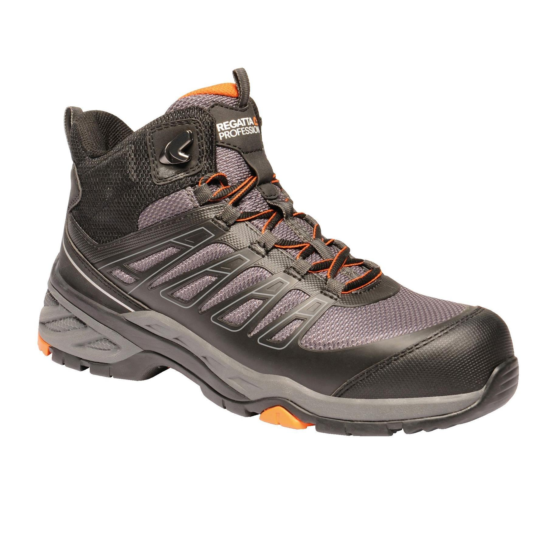 miniatuur 17 - Regatta Mens Work Safety Protective Shoes Steel Toe Cap Boots Workwear