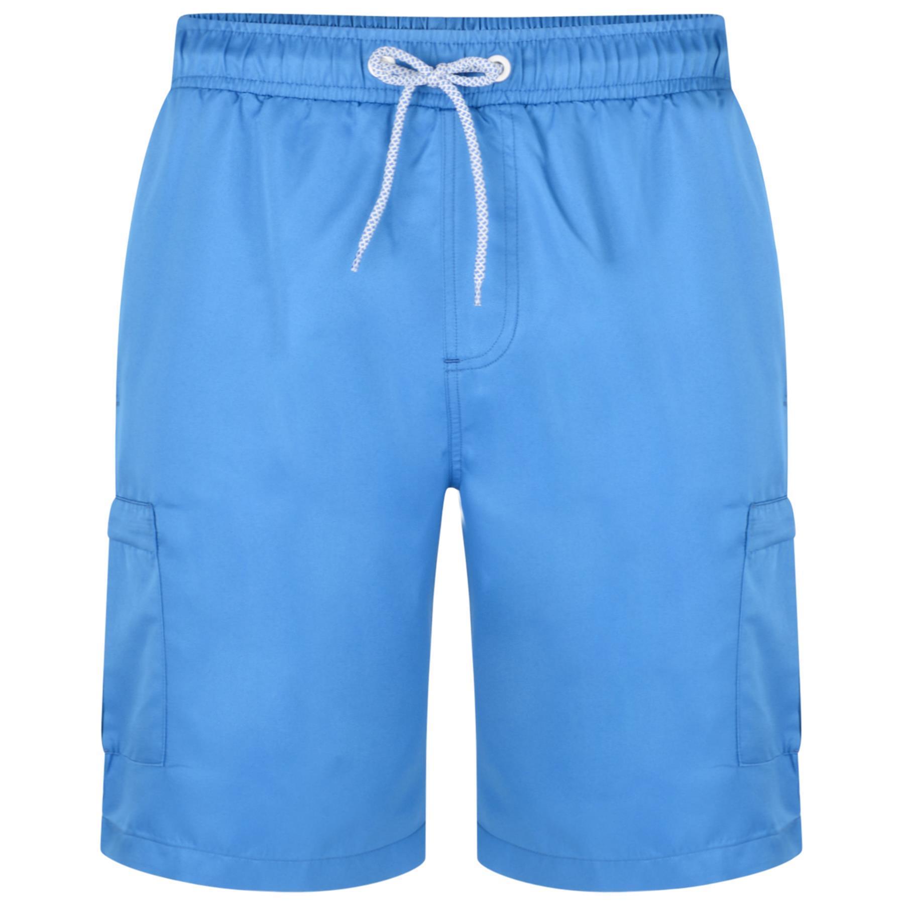 KAM Mens Big Size Plain Cargo Swim Shorts 334 in Size 2XL to 8XL