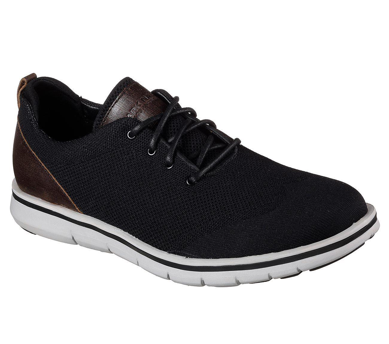 Skechers MARK NASON Herren Premium artikulierter - bradmoor Schuh in schwarz