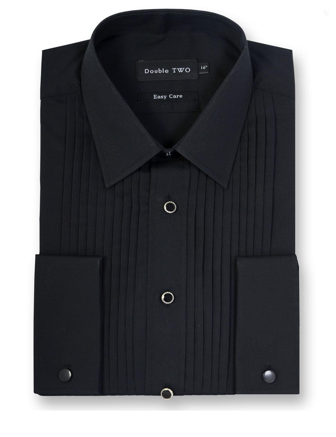5002 DOUBLE TWO Stitch Pleat dress shirt