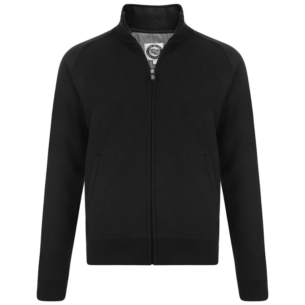KAM-Cotton-Rich-Fleece-Full-Zip-Sweat-Top-in-Size-2XL-to-8XL-3-color-Options