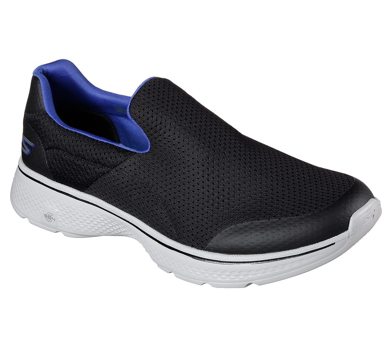 4 entrenadores Men negro Skechers para correr Go azul en Increíbles Walk caminar TxtTdpXq