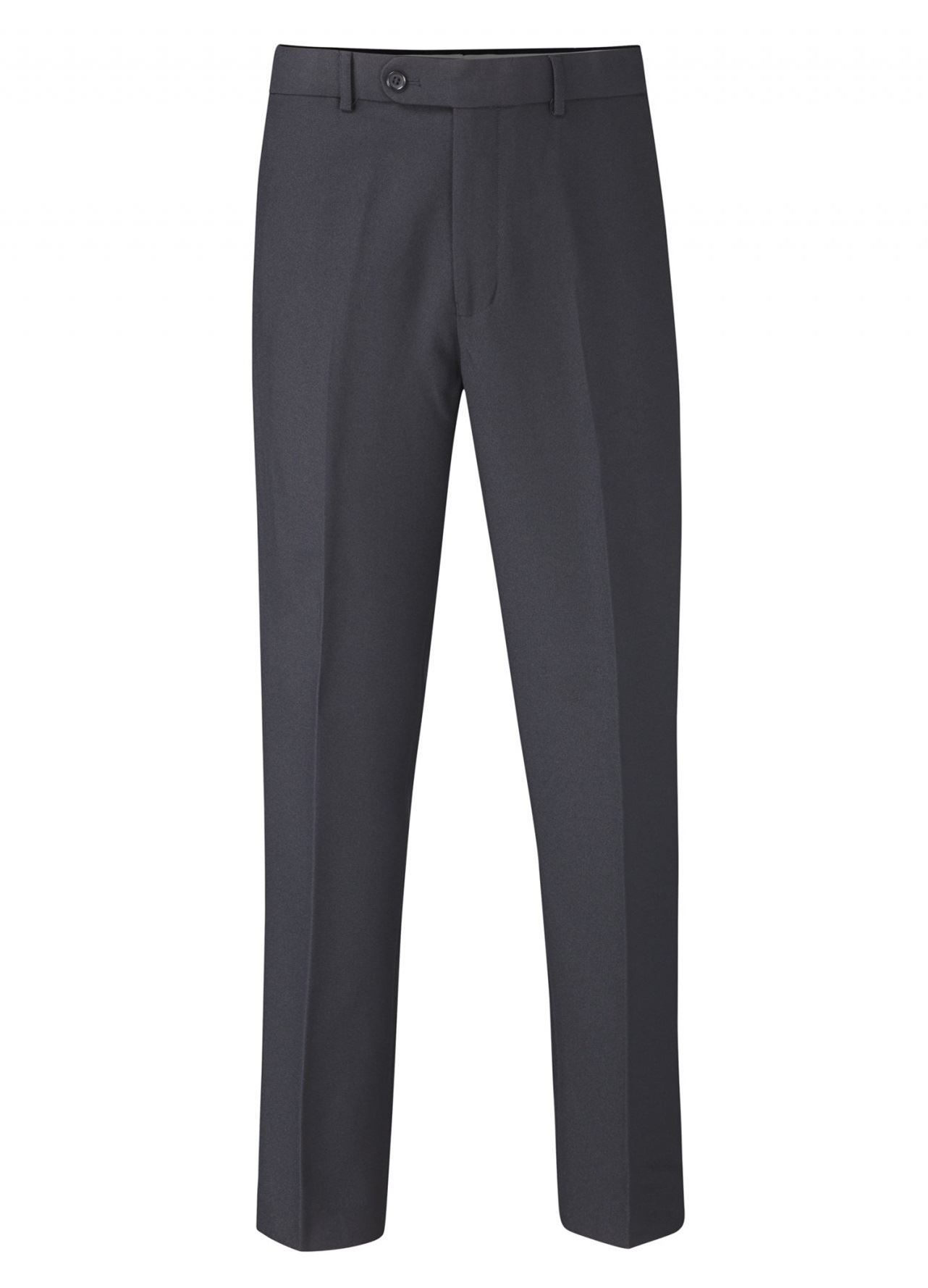 """SKOPES Flexi Waist Flat Front Easy Care Trousers in Navy,Waist 30-62/"""",XS// S//R//L"""