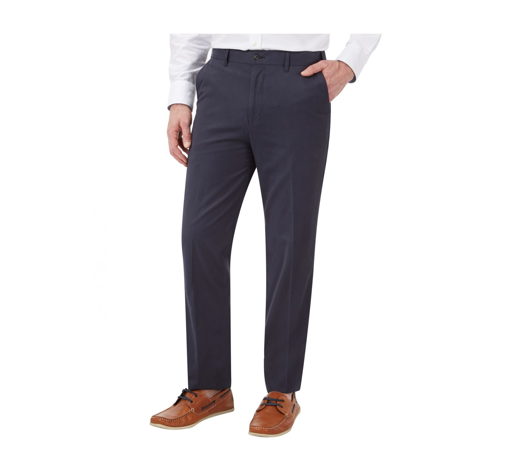 Skopes Flexi Taille Taille Taille Coton Sergé Chino Pantalon (Padstow) en taille 42 To 56 in (environ 142.24 cm) d8b13a