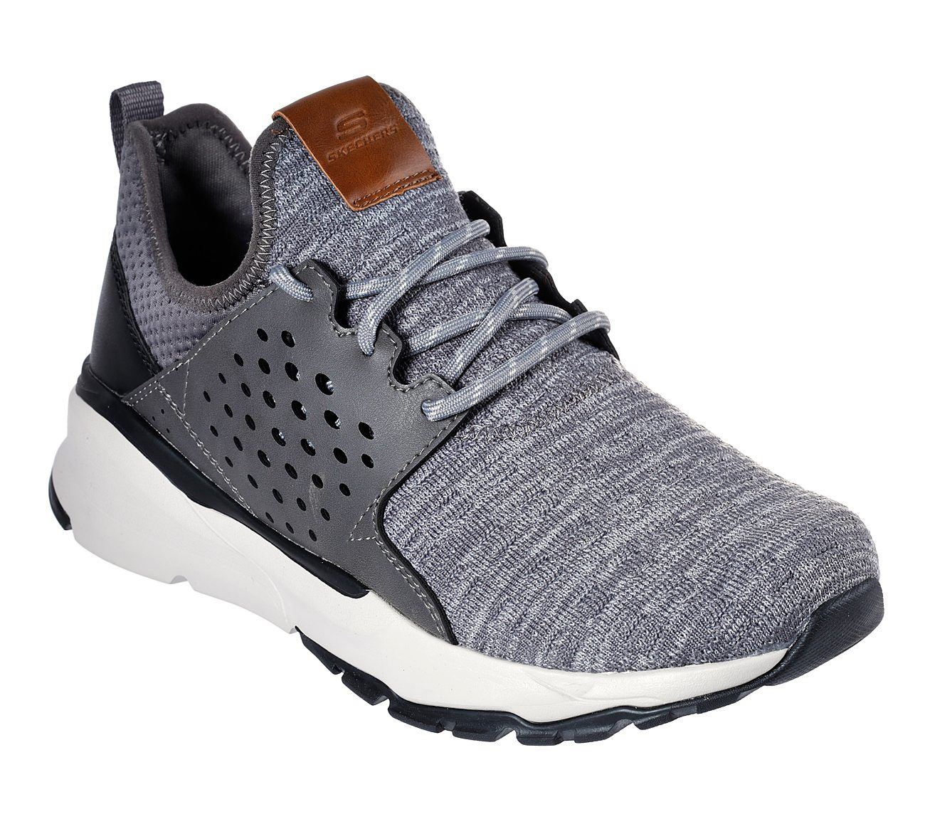 Cuervo reembolso acantilado  Skechers mens shoes velton relven - in grey   eBay