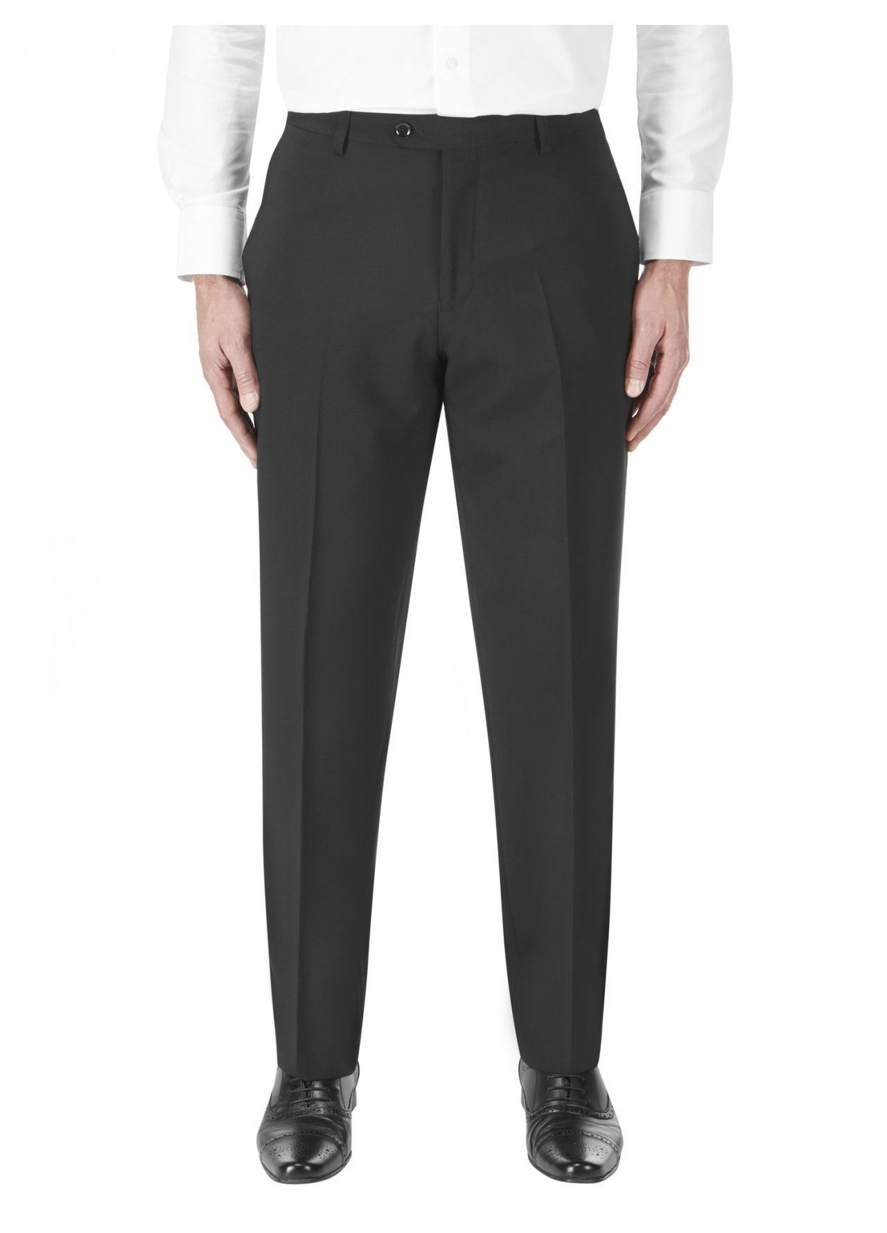 Darwin Skopes 30 r En Dans S l 60 Taille La Noir Laine Pantalon Costume Riche FwtFqrCxS
