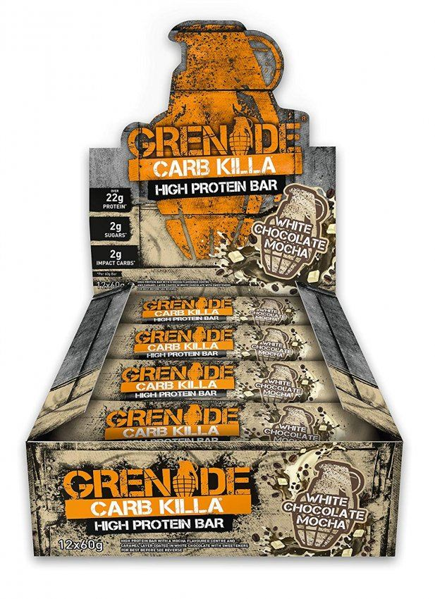 Grenade-Carb-Killa-High-Protein-Low-Carb-Sugar-Bar-Pack-12x-60g-Variety-Flavours thumbnail 22