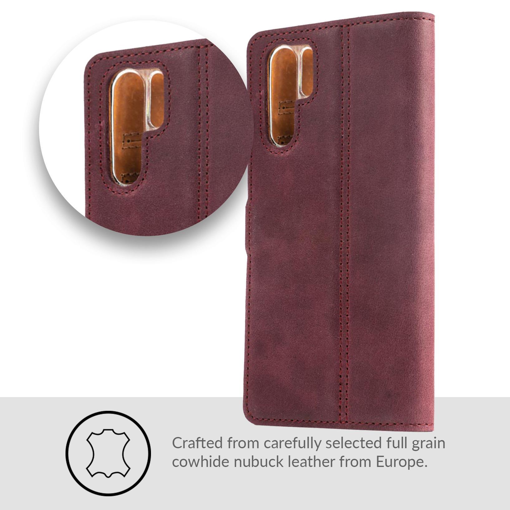 Snakehive-Huawei-P30-Pro-Premium-Genuine-Leather-Wallet-Case-w-Card-Slots thumbnail 15