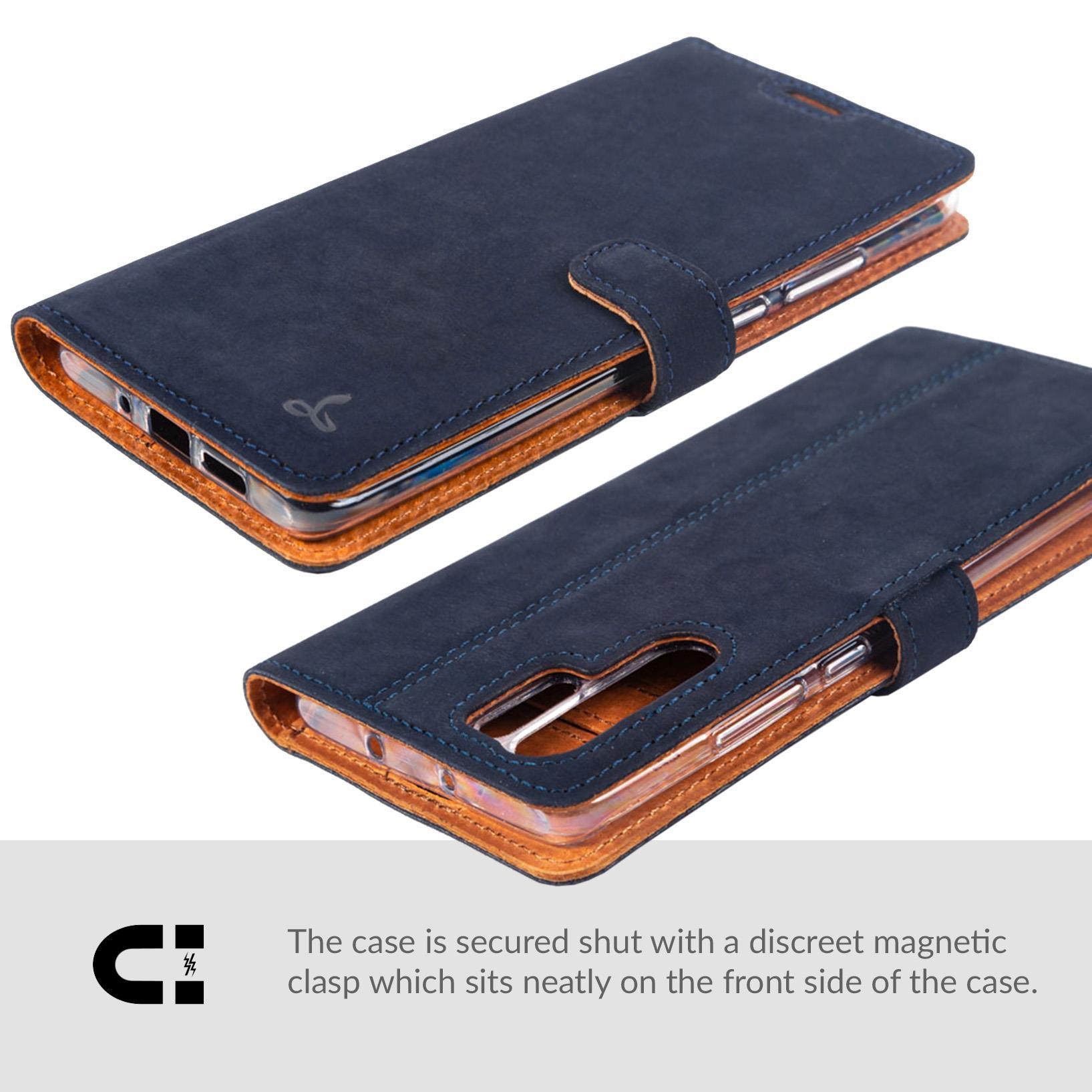 Snakehive-Huawei-P30-Pro-Premium-Genuine-Leather-Wallet-Case-w-Card-Slots thumbnail 12