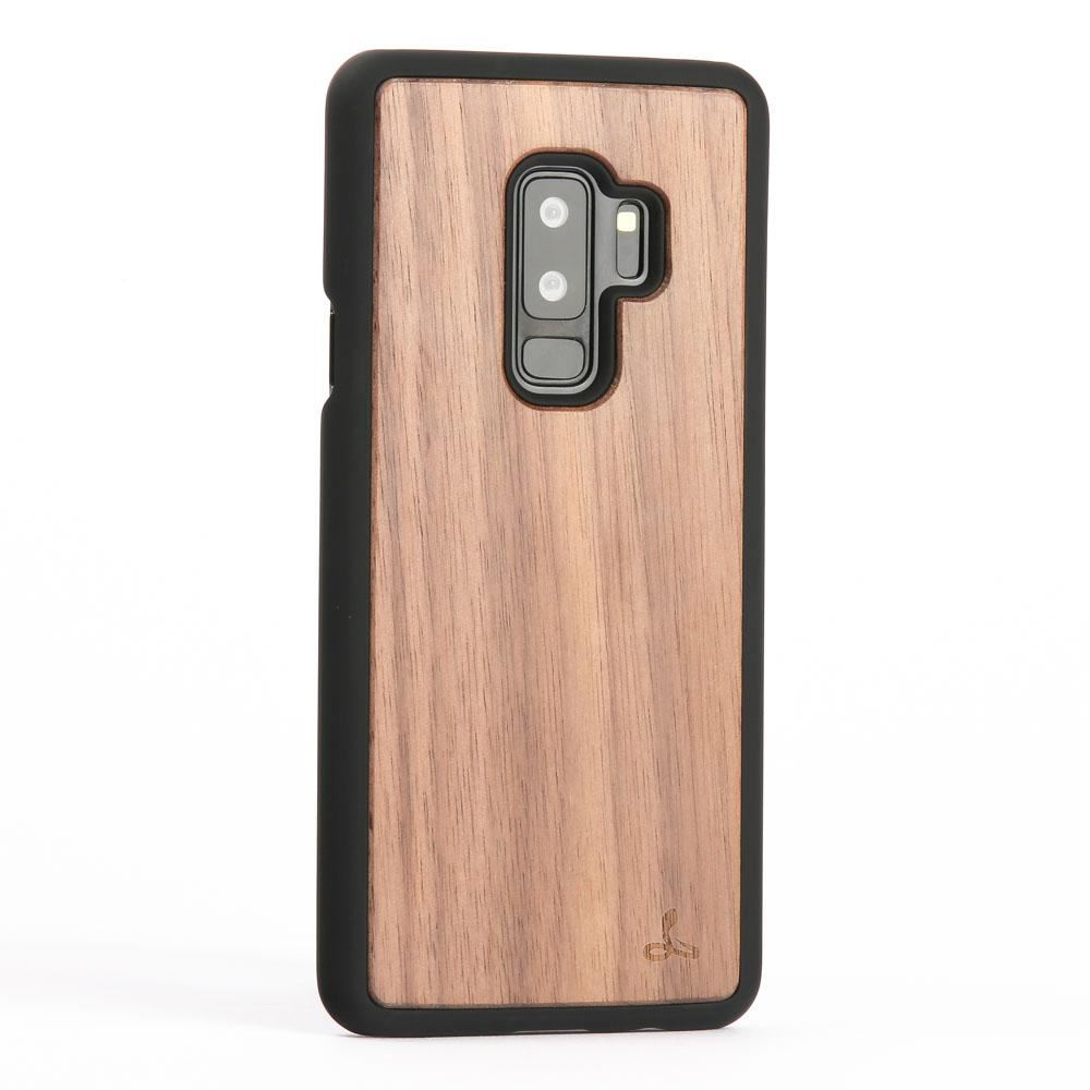 snakehive samsung galaxy s9 plus natural real wood back case phone cover ebay. Black Bedroom Furniture Sets. Home Design Ideas