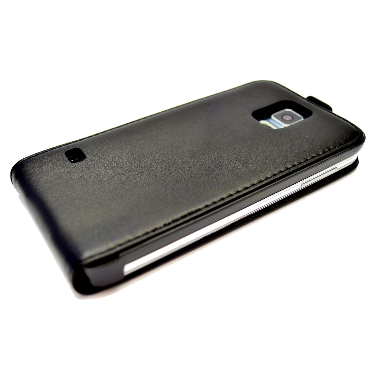 Snakehive-Samsung-Galaxy-S5-Genuine-Classic-Leather-Flip-Case thumbnail 5