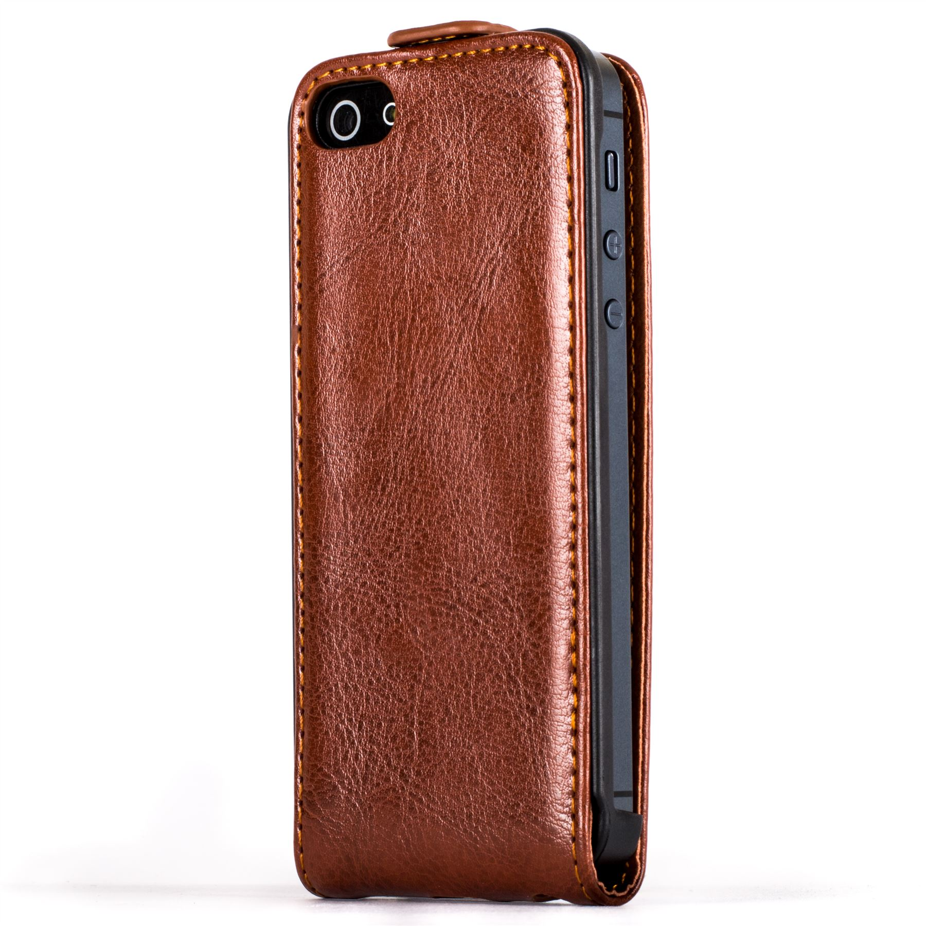 snakehive apple iphone 5 5s premium quality handy leather flip top case cover ebay. Black Bedroom Furniture Sets. Home Design Ideas