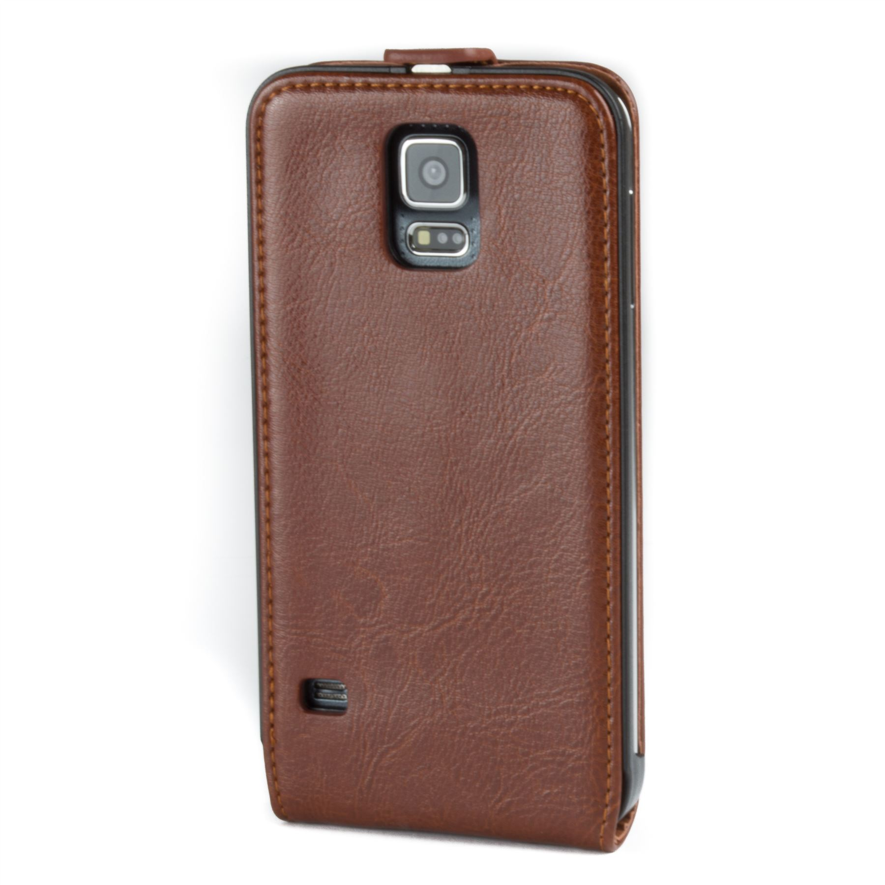 Snakehive-Samsung-Galaxy-S5-Genuine-Classic-Leather-Flip-Case thumbnail 22
