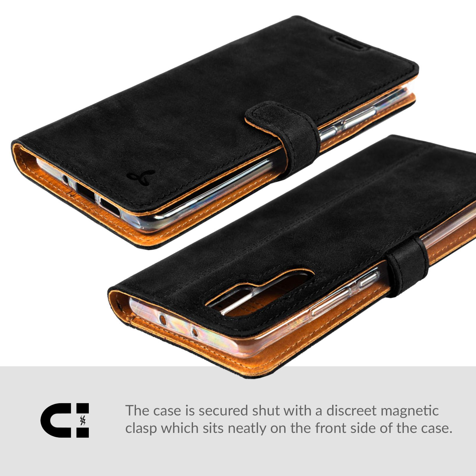 Snakehive-Huawei-P30-Pro-Premium-Genuine-Leather-Wallet-Case-w-Card-Slots thumbnail 5