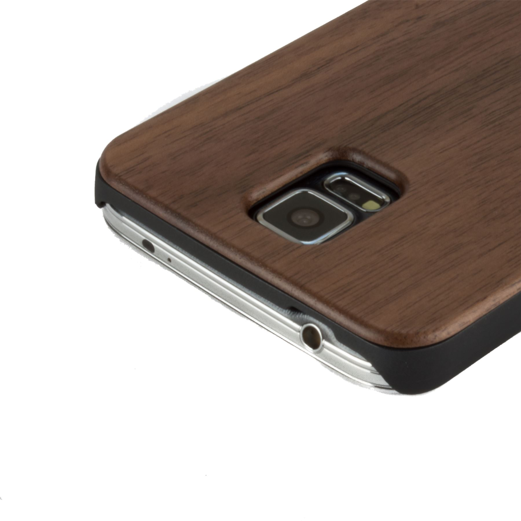 wholesale dealer d37ff 6054c Details about Snakehive Samsung Galaxy S5 Natural Wooden Real Wood Grain  Back Case Cover