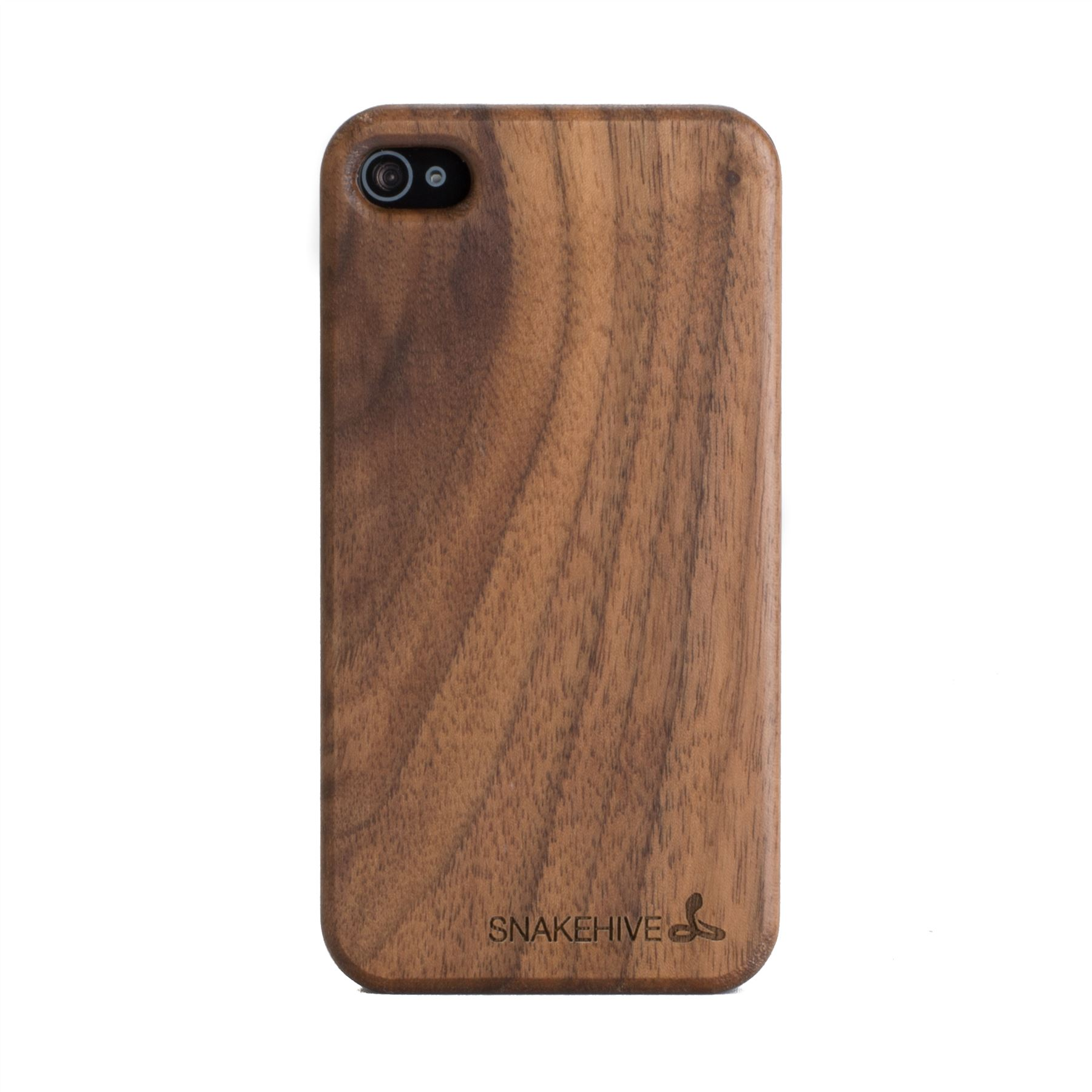 iphone wood case snakehive 174 apple iphone 4 4s wooden real wood 12505