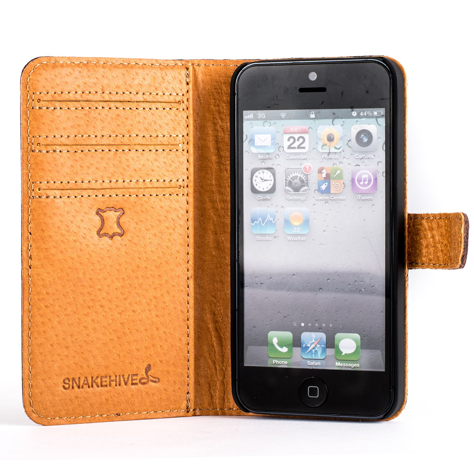 snakehive apple iphone 5 5s se vintage nubuck leather. Black Bedroom Furniture Sets. Home Design Ideas