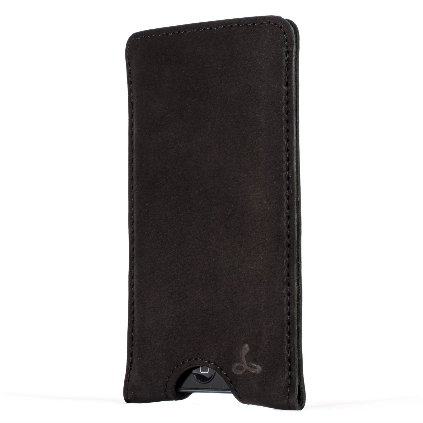 Snakehive apple iphone 5 5s se vintage nubuck leather pouch case cover ebay - Iphone 5s leather case ...