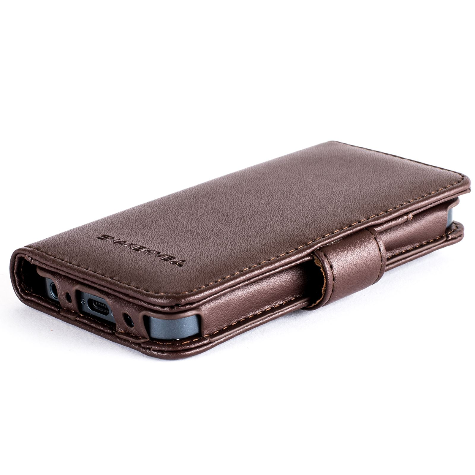 custodia flip iphone se