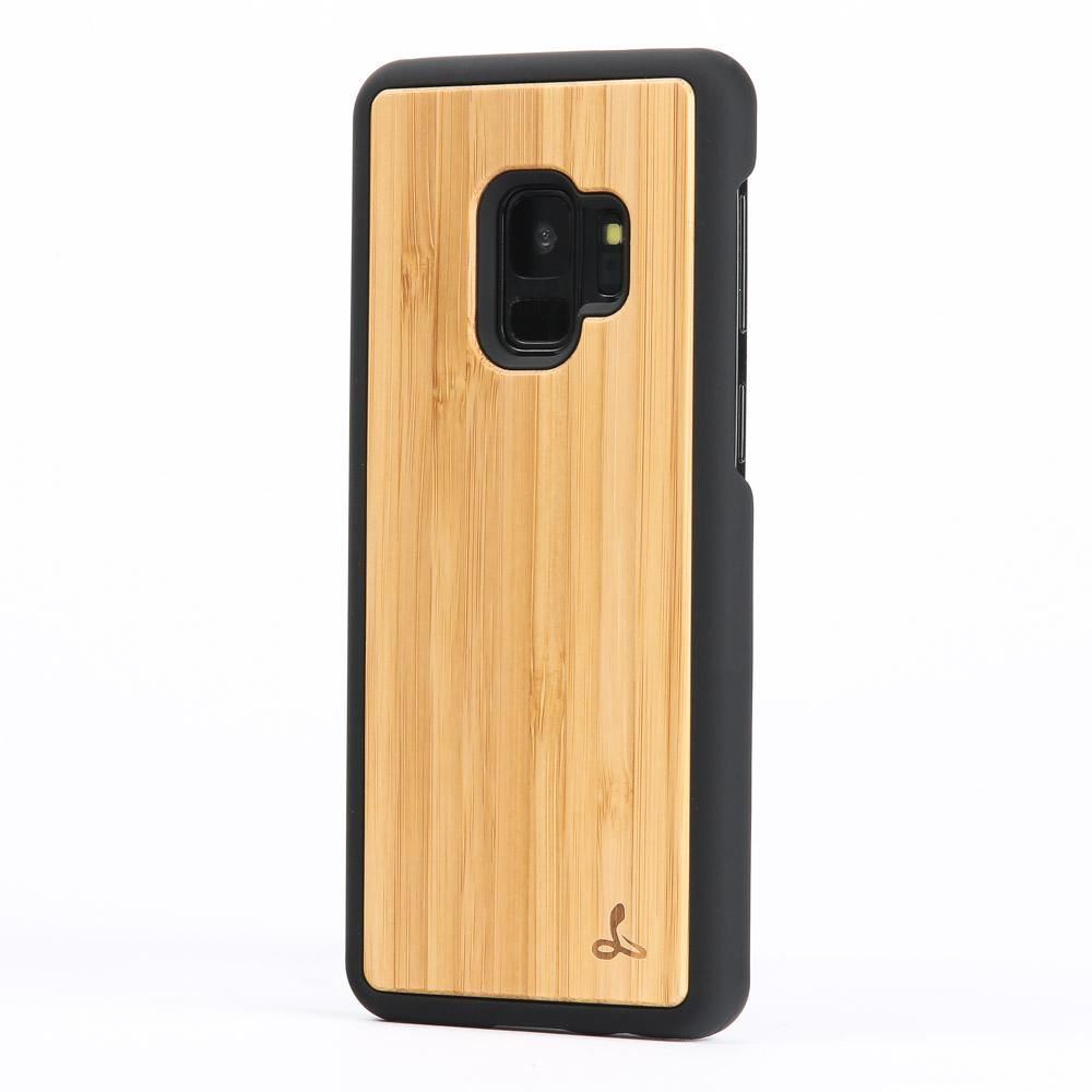 snakehive samsung galaxy s9 natural real wood back case phone cover ebay. Black Bedroom Furniture Sets. Home Design Ideas