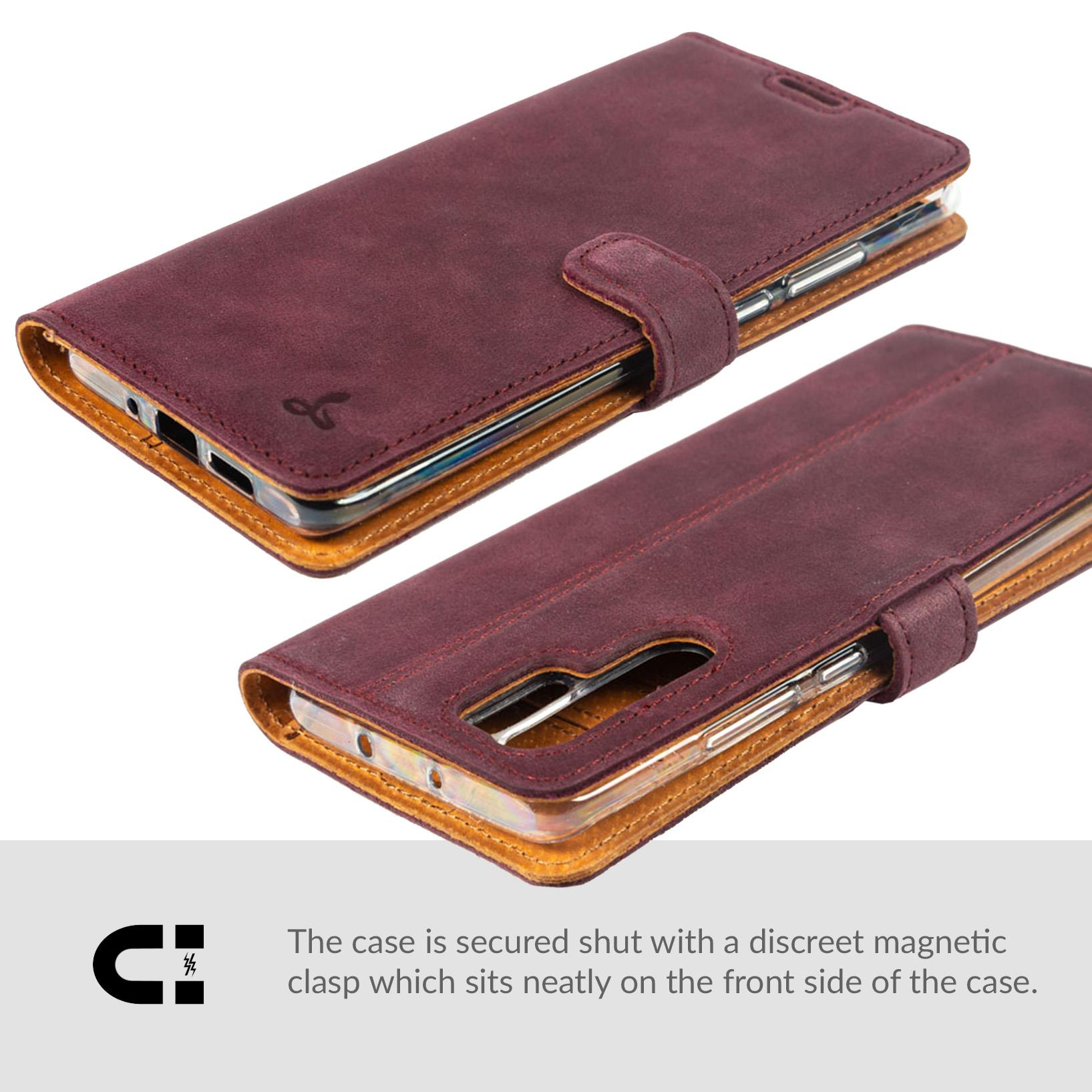 Snakehive-Huawei-P30-Pro-Premium-Genuine-Leather-Wallet-Case-w-Card-Slots thumbnail 16