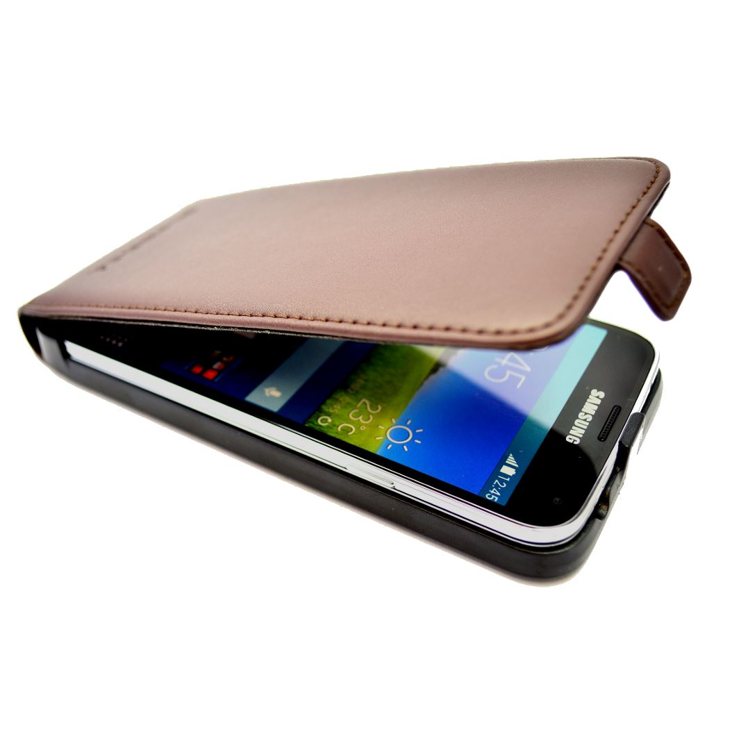 Snakehive-Samsung-Galaxy-S5-Genuine-Classic-Leather-Flip-Case thumbnail 8